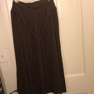 Dresses & Skirts - Brown midi skirt